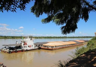 infraestrutura_logistica_barcaca_rio_sao_francisco (Foto: Divulgação/Icofort)