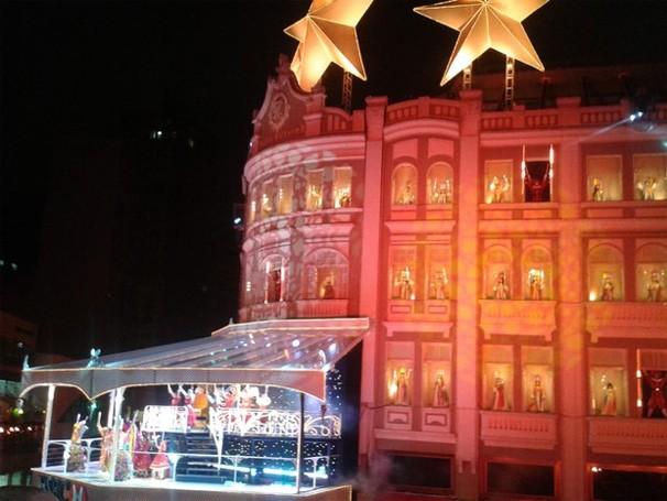 Paraná TV Natal Palácio Avenida Curitiba (Foto: Thais Kaniak/G1)