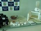 Polícia fecha laboratório de drogas em Caucaia e prende suspeito