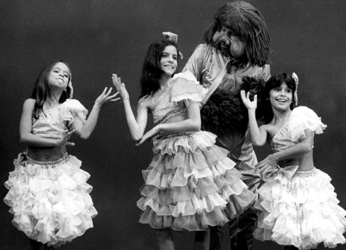 """A Turma do Balão Mágico em """"Amigos do Peito"""", em 1984 (Foto: Memória Globo)"""
