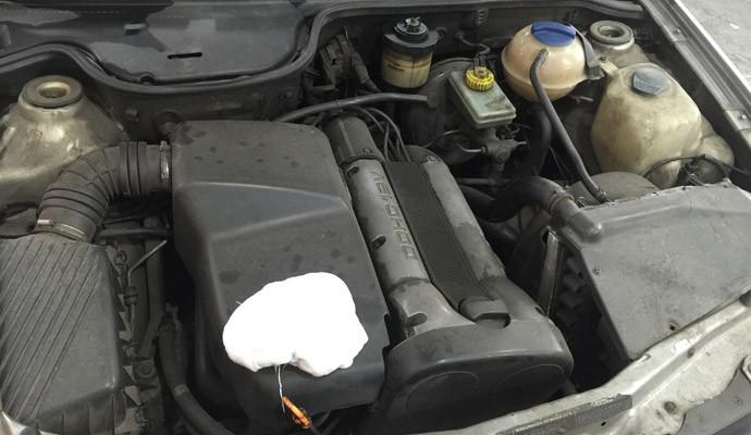 Nos carros com mais de 10 anos de uso, cuidado para lavar motor deve ser redobrado
