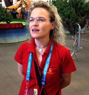 Daphne Cornez coreógrafa ensaio abertura Copa do Mundo (Foto: Felipe Zito)