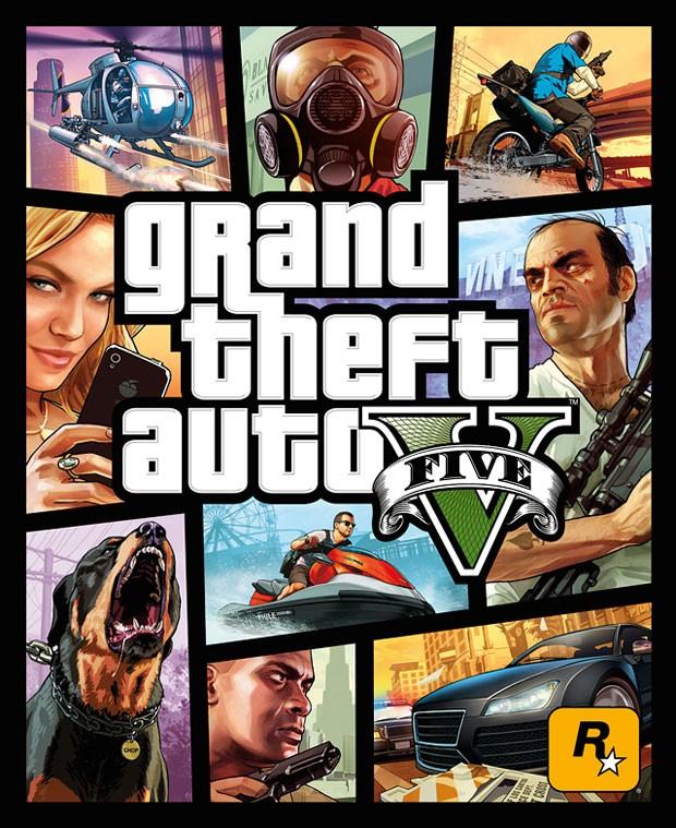 Capa do aguardado 'GTA V' (Foto: Divulgação/Rockstar)
