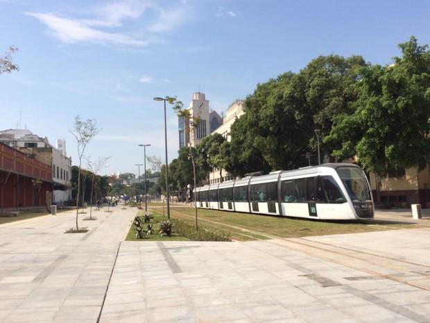 Trecho da Orla Conde na Rodrigues Alves foi inaugurado pela Prefeitura (Foto: Fernanda Rouvenat/G1)