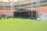 Após show, grama da Arena Amazônia é tratada para clássico
