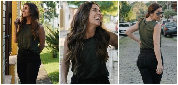 ea7fbaa22 Giovanna Antonelli nos bastidores da campanha de sua nova linha de esmaltes  (Foto  Divulgação
