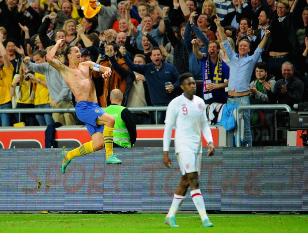 Ibrahimovic gol Suécia (Foto: Getty Images)