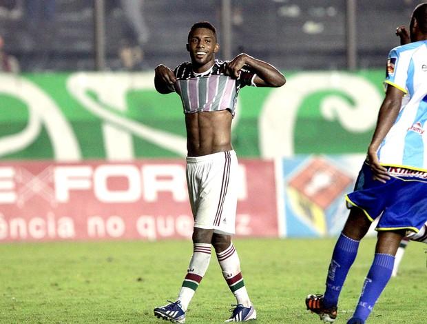 Rhayner jogo Fluminense Macaé (Foto: Marcelo Theobald / Ag. O Globo)