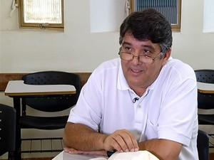 Teólogo careta (Foto: reprodução/TV Integração)