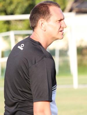 Luciano Silva, técnico das categorias de base do Treze (Foto: Magnus Menezes / Jornal da Paraíba)