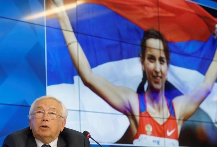 Vladimir Lukin presidente do Comitê Paralímpico da Rússia (Foto: Reuters)