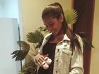 MC Pocahontas está grávida de uma menina