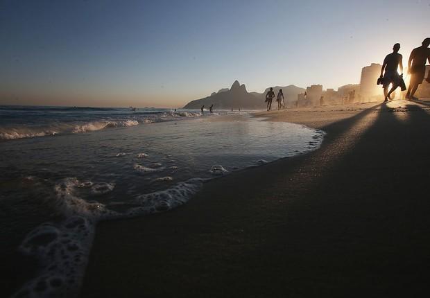 Praia de Ipanema, no Rio de Janeiro (Foto: Mario Tama/Getty Images)
