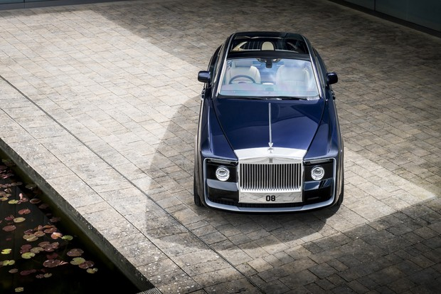 Rolls-Royce Sweptail (Foto: Divulgação)