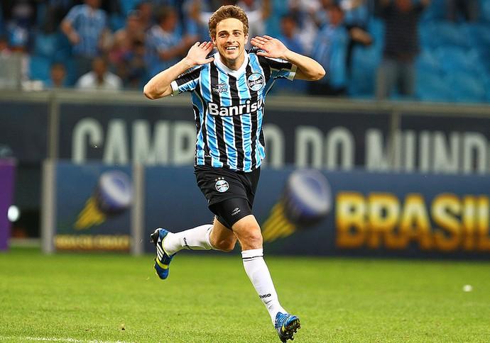 Maxi Rodríguez Grêmio  (Foto: Lucas Uebel/Grêmio FBPA)