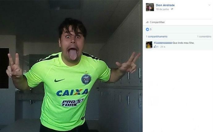 Dion BID Coritiba (Foto: Reprodução/Facebook)