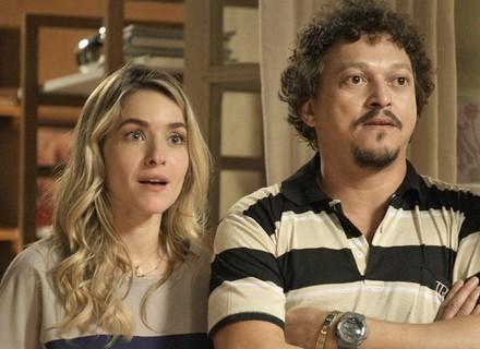 Tina e Oziel são surpreendidos com pedido inusitado dos ex-amados