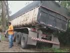 Caminhoneiro morre após bater em eucaliptos na BR-267, no Sul de Minas