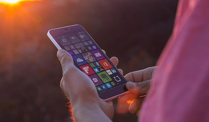 Microsoft Lumia 640 XL Dual SIM (Foto: Divulgação/Microsoft) (Foto: Microsoft Lumia 640 XL Dual SIM (Foto: Divulgação/Microsoft))