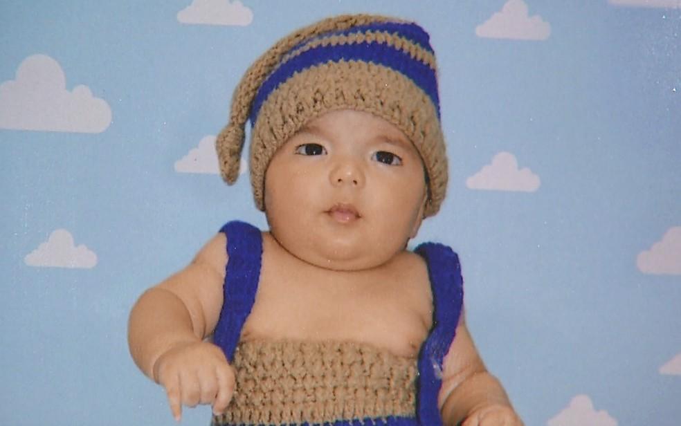Giovani Orsini, de 3 meses, morreu após ser submetido a cirurgia no intestino (Foto: Reprodução)