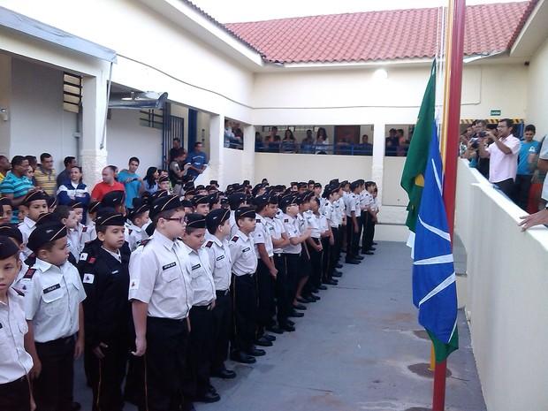 Aulas tiveram início nesta terça-feira (3) em Uberlândia (Foto: Polícia Militar/Divulgação)