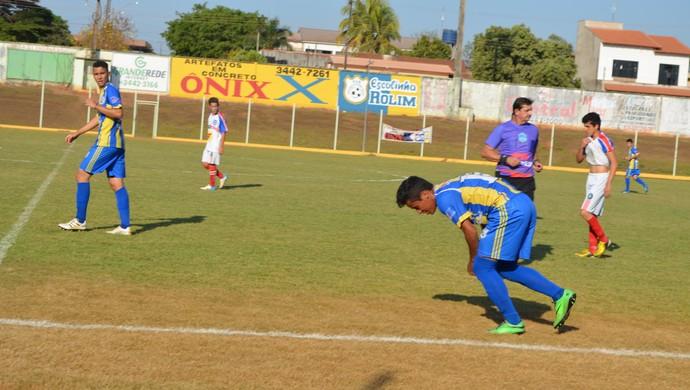 Ariquemes e Desportivo (Foto: Rogério Silva)