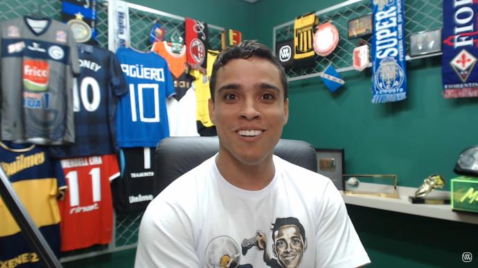 Wendell Lira; desafio; Fifa (Foto: Reprodução / YouTube)