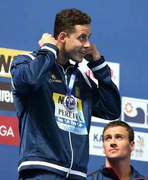 Thiago Pereira - prata nos 200m medley no Mundial (Foto: Satiro Sodré/SMPRESS)
