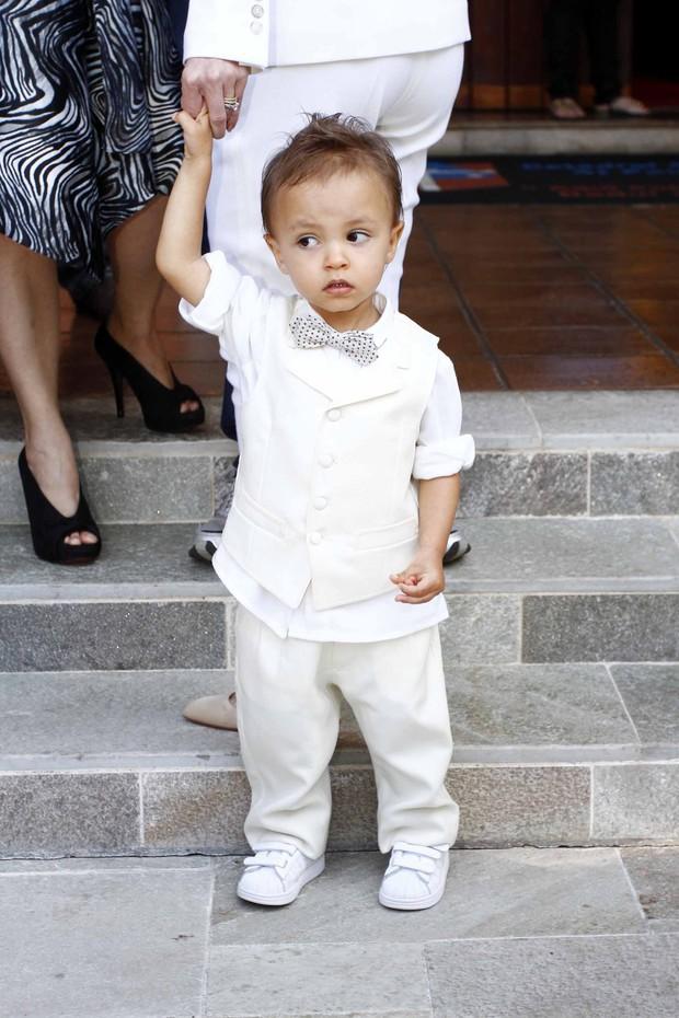 Arthur, filho de Eliana (Foto: Paduardo / AgNews)