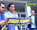 Campeão do mundo em 2006, Luca Toni assina com o Verona