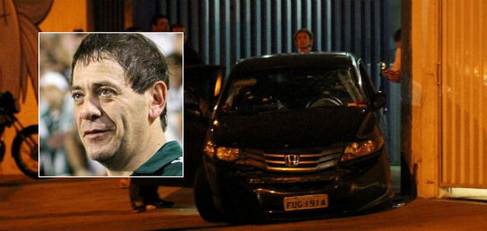 Moacir Bianchi foi encontrado morto com 22 perfurações de bala no carro que dirigia na Avenida Presidente Wilson (Foto:  Edison Temoteo/Futura Press/Estadão Conteúdo/Reprodução/Facebook/Moacir Bianchi)