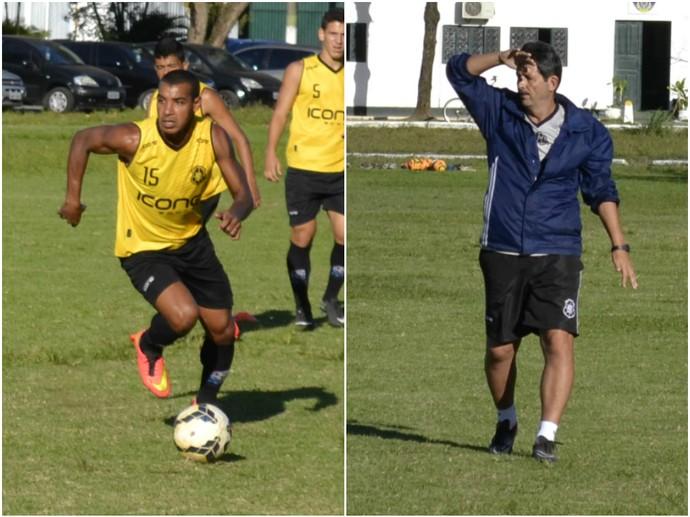 Willian e Duílio Dias (Foto: Sidney Magno Novo/GloboEsporte.com)
