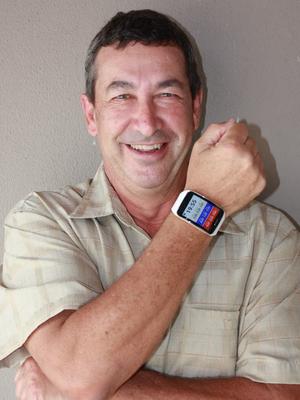 Mano Ziul, idealizador do sistema do relógio da WSL (Foto: Divulgação)