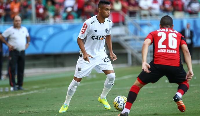 Pablo, atacante do Atlético-MG, contra o Vitória (Foto: Bruno Cantini/CAM)