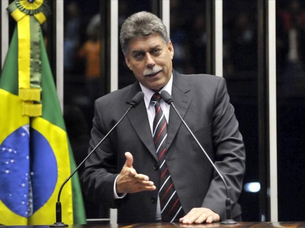 João Ribeiro voltou ao Senado em agosto deste ano, após afastamento para tratar da doença (Foto: Geraldo Magela/Agência Senado)