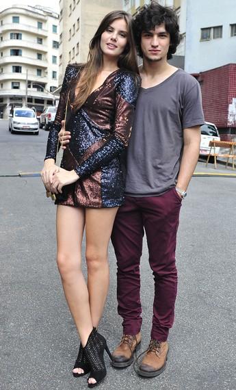 A calça chino, muito usada por Guilherme, tem corte de alfaiataria, mas é feita de algodão  (Foto: TV Globo/Reinaldo Marques)