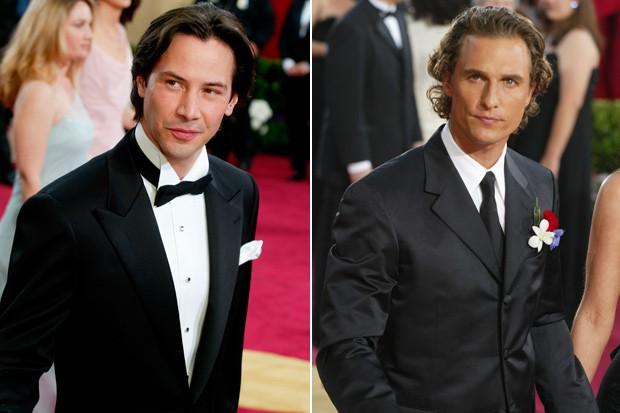 Keanu Reeves e Matthew McConaughey (Foto: Getty Images)