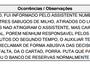 Torcida do Picos arremessa três milhos  no bandeira durante jogo contra Altos