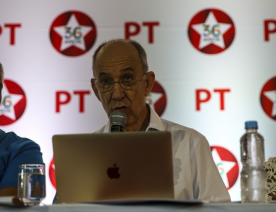 O presidente do PT, Rui Falcão  (Foto: EFE)