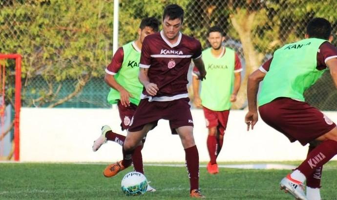 Tony, atacante do América-RN (Foto: Canindé Pereira / América FC / Divulgação)