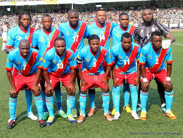 Seleção congo  (Foto: Radio Opaki / Ph. John Bompengo)