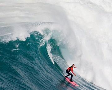 O aprendizado de cair da onda, antes de voltar a surfar