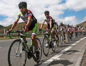 Terceira etapa do Tour do Rio de ciclismo colombianos colombia (Foto: Marcelo Regua / MPIX)