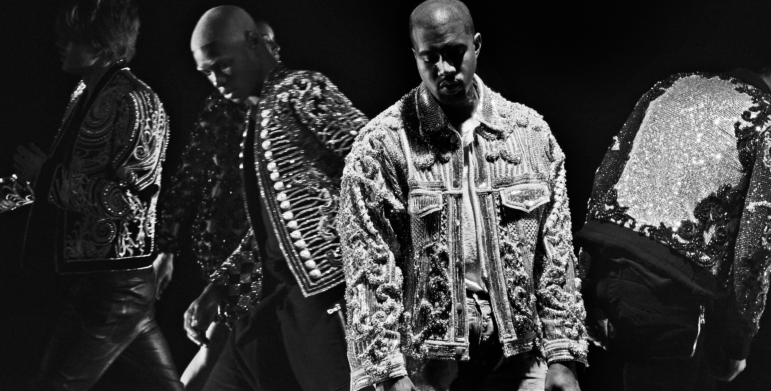 Kanye West em 'Wolves' (Foto: Reprodução/Youtube)