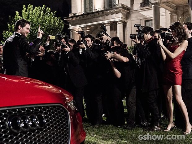 Antonio Gonzalez é a grande presença da festa (Foto: Fábio Rocha / TV Globo)