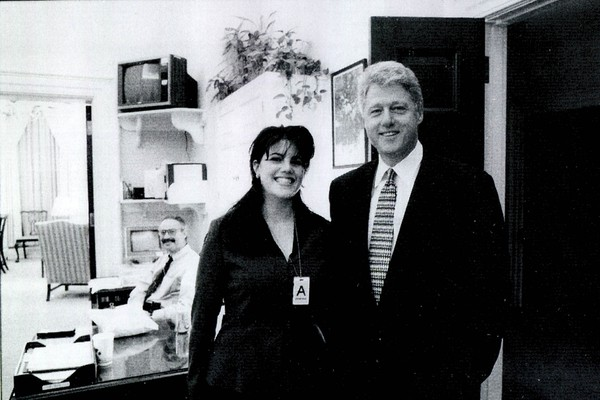 Monica Lewinski e Bill Clinton (Foto: Getty Images)