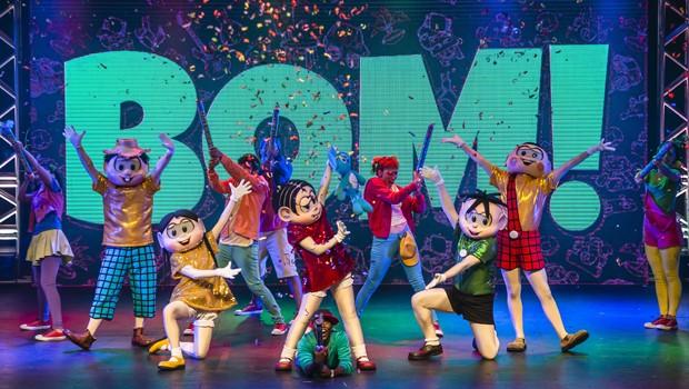 Venha se divertir com o espetáculo musical 'Turma da Mônica – O Show'  (Foto: Divulgação)
