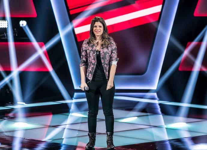 Sarah Oliveira é aprovada na primeira fase do The Voice Brasil (Foto: Isabella Pinheiro/Gshow)