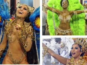 Veja ranking das musas do Rio (Editoria de Arte/ G1)