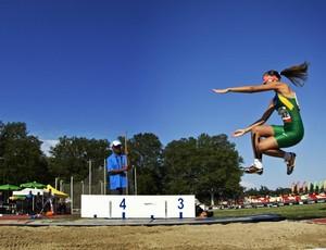 Lorena Spoladore - ouro mundial paralimpico de atletismo lyon 2013 (Foto: CPB)